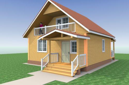 Дома из бруса 2021